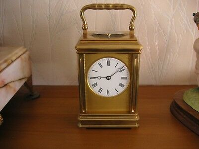 Drocourt Antique Repeater  Striking Carriage clock