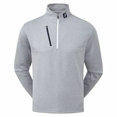 FootJoy Heather Pinstripe Chill-Out Pullover