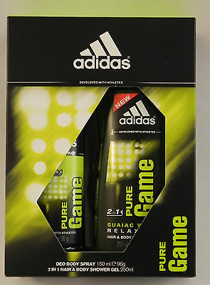 Adidas Pure Game Gift Set For Your Loved Ones Christmas Present