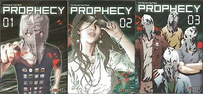 Prophecy / Yokokuhan Volumes 1 - 3 Complete English Manga SET Graphic Novels LN
