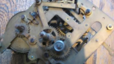 old/vintage clock striking movement for spares or repair