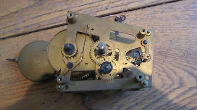 old/vintage clock movement for spares or repair