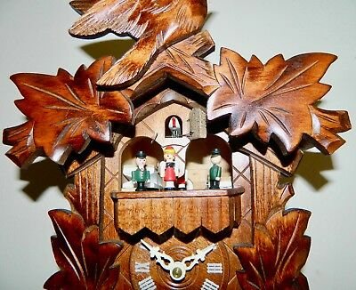 ****very Nice Musical Black Forest Germany Cuckoo Clock*****