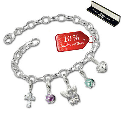 SilberDream exclusive Charms - Charm Noël ensemble tentation - bracelet avec cha