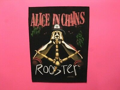 Alice In Chains Official1993 Vintage Back Patch Uk Import Not Cd Lp Shirt Poster