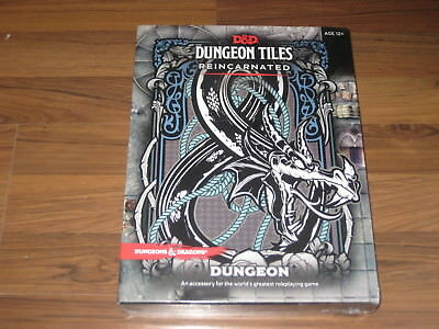 D&D 5th Edition Dungeon Tiles Reincarnated Dungeon WotC New Sealed Box
