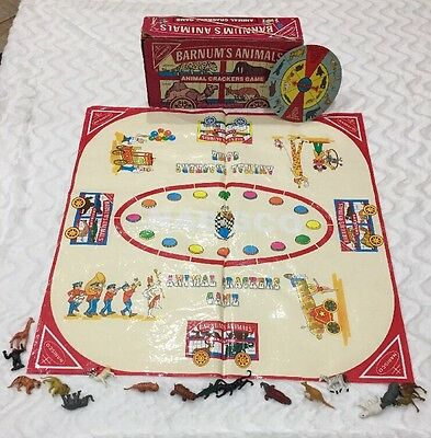 Barnum's Animals Animal Crackers Game Nabisco 1986 Vintage Complete Cadaco