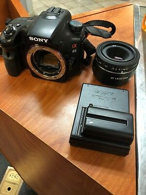 Sony Alpha SLT-A65 24.3MP Digital SLR Camera - Black