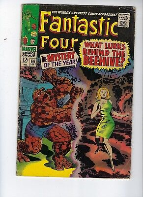 Fantastic Four 66. Good/Very Good Condition