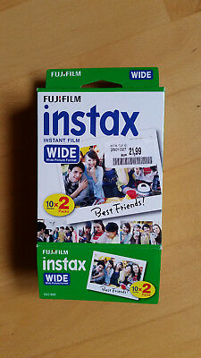 Fujifilm Instax Instant Film Wide Picture Format 2 x 10 Sheets
