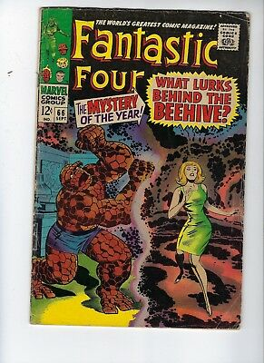 Fantastic Four 66, Good/Very Good