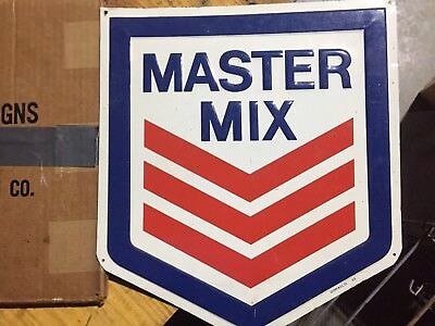 Master Mix Feed Sign NOS