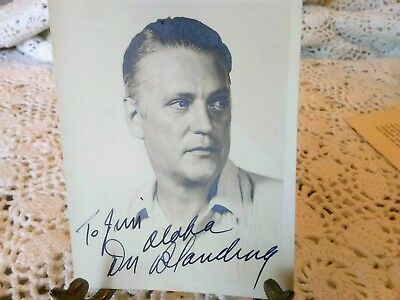Rare Author Don Blanding Early1940's Collection of Letters/Signed Photo/Telegram