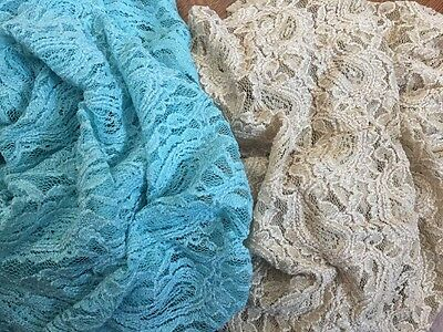 BRAND NEW --set Of 2- Delicate Stretch LACE NEWBORN BABY WRAPS-PHOTOGRAPHY PROPS