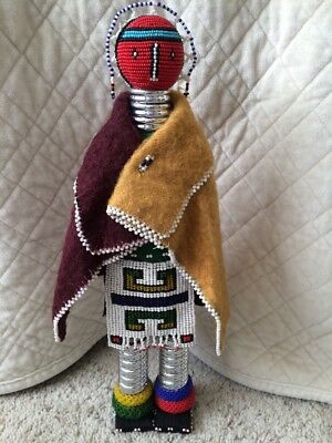 South African Beaded Fertility Doll 16""