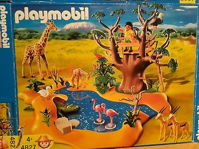 Playmobil Afrika Wasserstelle Savanne 4827