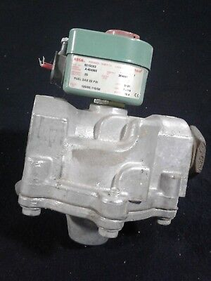 ASCO Automatic Switch 1 1/4.  25 PSI. 120/60 120/50 Volts HZ. 15.4 Watts. Our #3