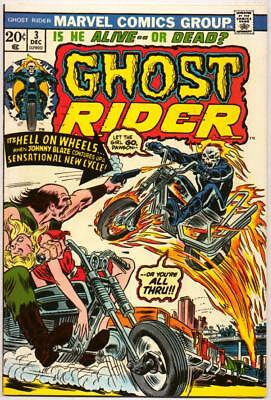 Ghost Rider 3 Nm- 9.2 High Grade 1St Fire Motorcycle Son Of Satan Marvel Bronze