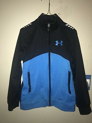 Boys Under Armour Infrared Loose All Season Gear Zip-up Jacket Coat Youth XS