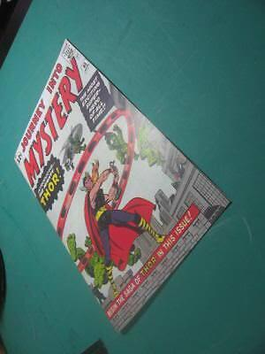 Facsimile coverJourney into Mystery 83, 1st appearance of Thor
