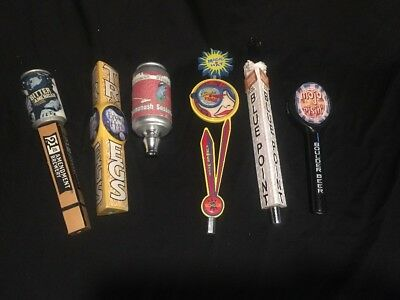 Tap Handles Lot 21st Amendment, Blue Point, Magic Hat, Boulder, Rivertown
