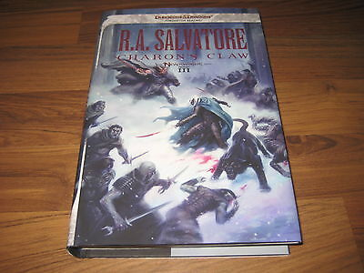 D&D Forgotten Realms Neverwinter 3 Charon's Claw Hardcover R.A. Salvatore Neu