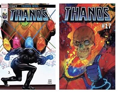THANOS #17 Cover A, B Set (2)   Cosmic Ghost Rider DONNY CATES