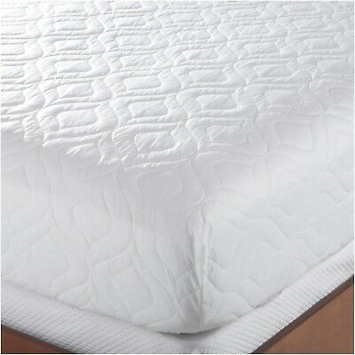 BED MATTRESS PAD Cover Full Size White Protector Pillow Top Topper Impressive Mattress Cover Queen Pillow Top