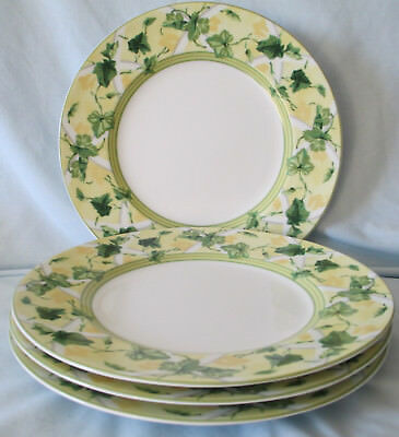Waverly Garden Room Gazebo Dinner Plate, set of 4