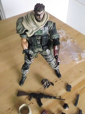 Play Arts Kai Metal Gear Solid Phantom Pain Snake Defekt, LESEN!!!!