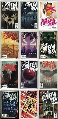 Omega Men (2015) 1-12 Complete VF/NM (DC, Tom King, Barnaby Bagenda)