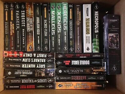 Warhammer 26 Book Lot - Abnett, Thorpe, Werner, King, Counter