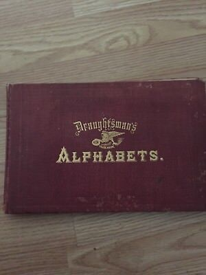 Draughtsmans Alphabets Vintage Caligraphy 1877 By Keuffel And Esser