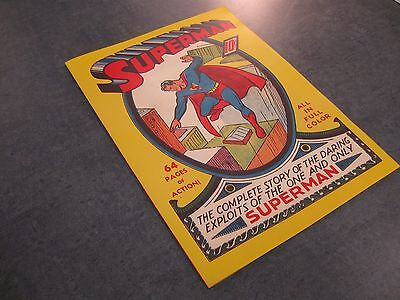 Facsimile cover Superman #1, COVER ONLY