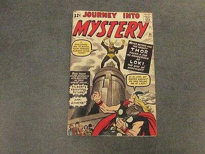 Facsimile reprint covers only to Journey Into Mystery 85, 2nd app. THOR