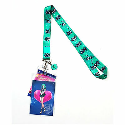Sailor Moon S Sailor Neptune Lanyard With Id Badge Holder Metal