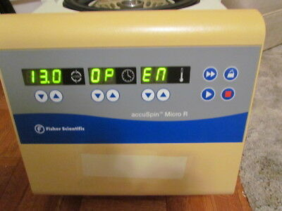 Fisher Scientific accu Spin Micro r Refrigerated Centrifuge