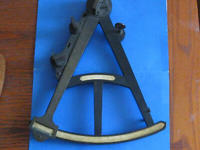 Antique Marine Octant Sextant Quadrant by Spencer Browning and Rust London 1816