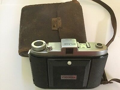 ATLASIX FODORSIX Vintage Camera VERY RARE - OLD No.1760