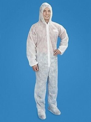 13 Disposable Coverall Cover Up Your Clothes Construction Protective Gear 3XL