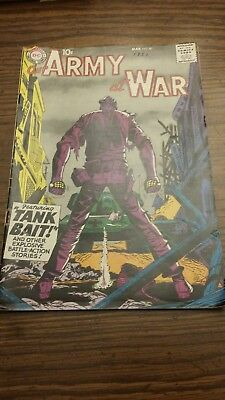 Dc comics silver age lots Our Army at War featuring Tank Bait.