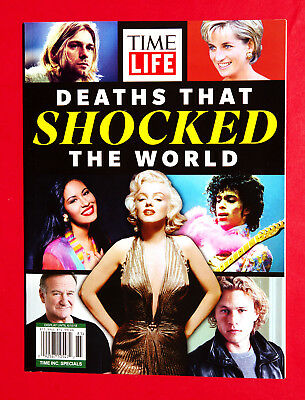 Time Life Special Edition Deaths That Shocked The World BOOK 2018 Marilyn Monroe