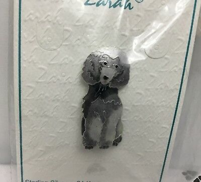 Poodle Dog Pin by Zarah (Retired)