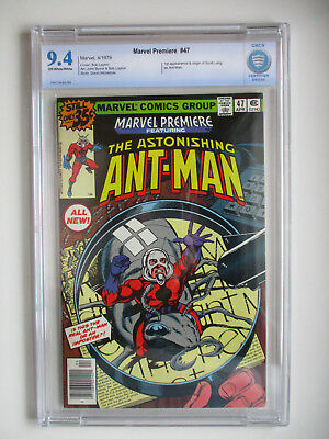 Marvel Premiere #47 CBCS 9.4 First appearance & Origin of Scott Lang as Ant-Man