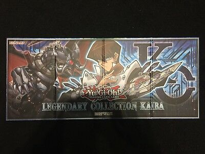 YUGIOH!! Legendary Collection Kaiba Spielmatte/Playmat! LC06! Top! Doppelseitig!