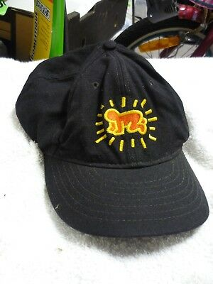 Rare Keith Haring Baseball cap 1997 Sydney Exhibition merchandise. BABY figure