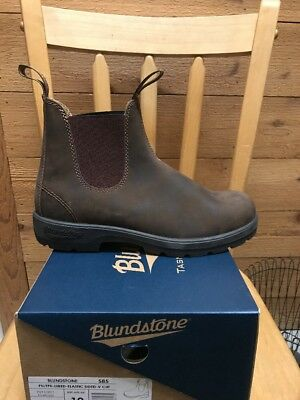 NEW Men's Blundstone Rustic Brown Super 550 Boots Style #585 MSRP $184.95