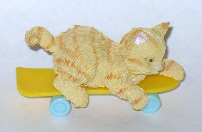 Enesco Kitty On Skateboard Figure