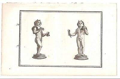 1780 Antique Copperplate Print