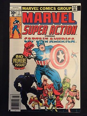 Marvel Super Action #1 (May 1977, Marvel) - See Pics - Beautiful Copy